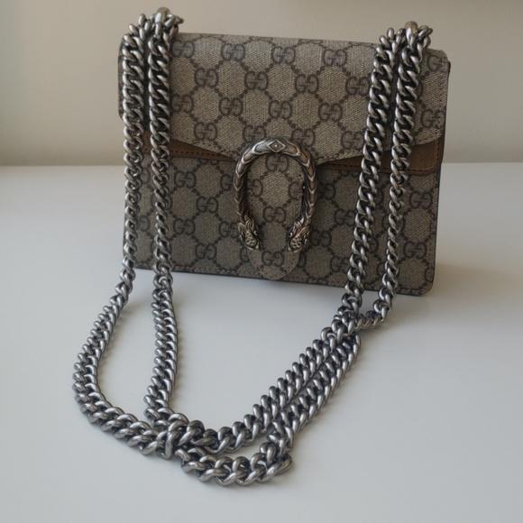d99401a0e0a Gucci Handbags - Gucci Dionysus GG Supreme mini bag in Taupe